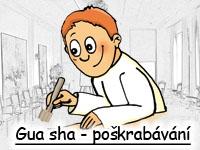 Gua sha - poškrabávání