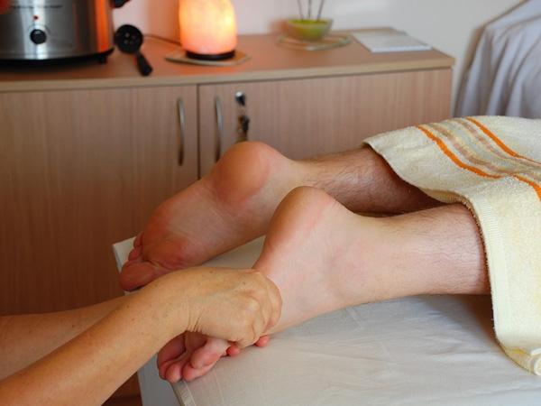 Reflexní terapie plosky nohy